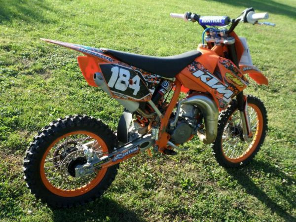2005 KTM 85 DIRT BIKE for rent