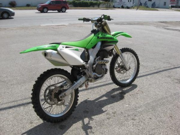 2007 KAWASAKI KX250F DIRT BIKE For Rent