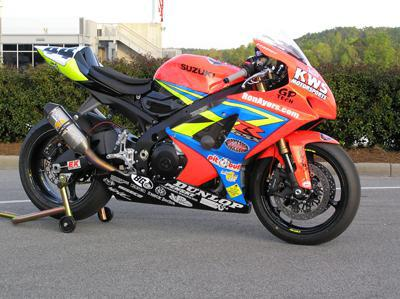 2008 SUZUKI GSXR 1000 RACE BIKE