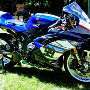 2008 YAMAHA YZF-R1 STREET LEGAL MOTORCYCLE