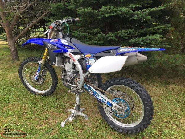 2010 YAMAHA YZ250F DIRT BIKE For Rent