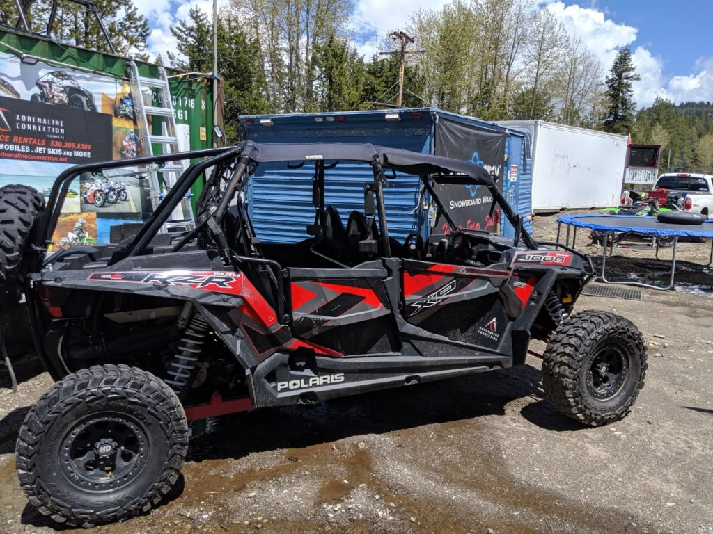 RZR ATV for Rent Tahoe Truckee